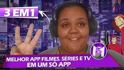 MELHOR APP! FILMES, SÉRIES E TV DE GRAÇA EM UM SÓ APP