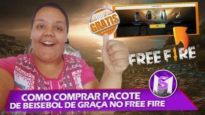 COMO COMPRAR O PACOTE BEISEBAL DE GRAÇA NO FREE FIRE! (PROVA DE PAGAMENTO)