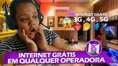 NOVO MÉTODO! INTERNET GRÁTIS EM QUALQUER OPERADORA (TIM,VIVO, OI E CLARO)