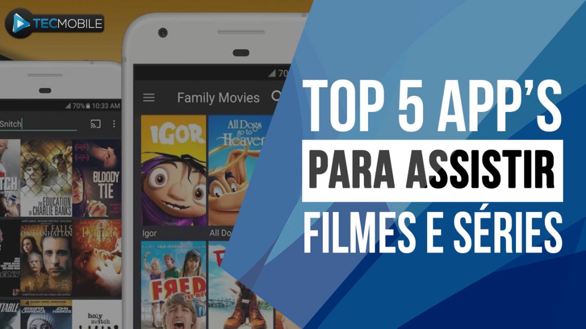 SÓ OS TOP!! OS MELHORES APLICATIVOS DE ASSISTIR FILMES E SÉRIES DE GRAÇA
