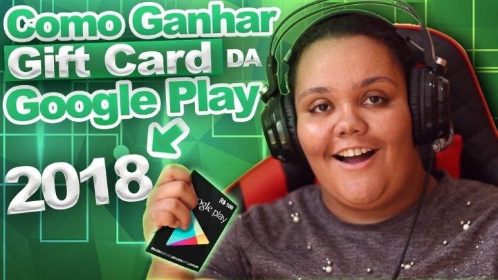 COMO GANHAR GIFT CARD DA GOOGLE PLAY DE GRAÇA 2018