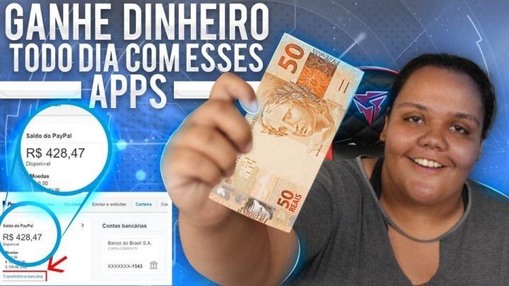 COMO GANHAR DINHEIRO TODO DIA COM APLICATIVOS (SEM CONVIDAR)