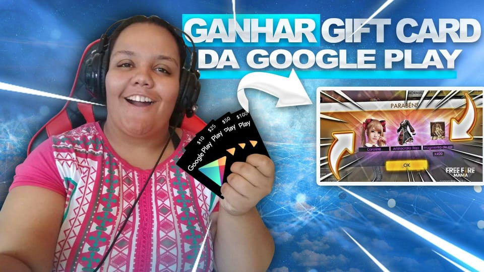 COMO GANHAR GIFT CARDS DA GOOGLE PLAY DE GRAÇA 2018 (DIAMANTES FREE FIRE GRÁTIS)
