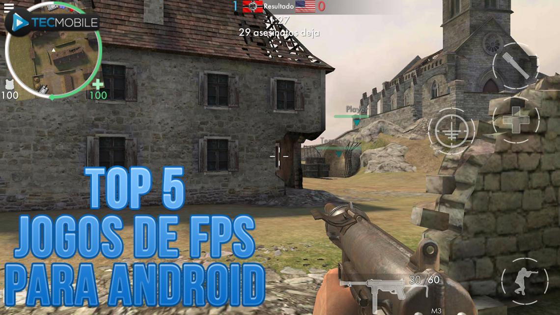 TOP 5 JOGOS DE FPS/TIRO LEVE PARA SEU ANDROID