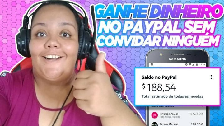 COMO GANHAR DINHEIRO NO PAYPAL PELA INTERNET (RÁPIDO E FÁCIL)
