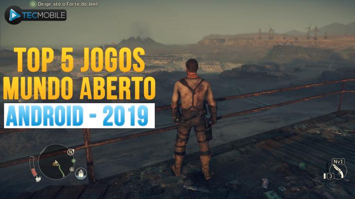 SAIU!! Top 5 Melhores JOGOS De MUNDO ABERTO Para ANDROID – 2019