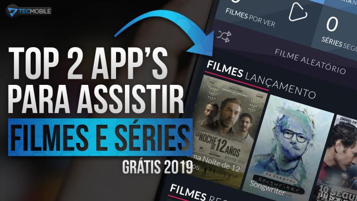 VOCÊ VAI GOSTAR!! Top 2 Melhores APPS De 2019 Para Assistir FILMES E SÉRIES