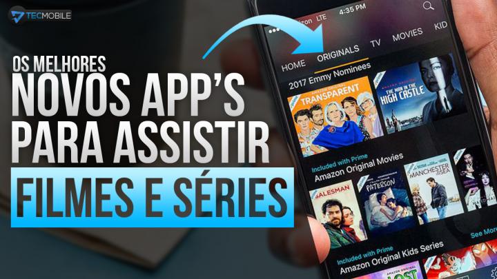 SAIU!! TOP 5 Melhores App's De 2019 Para Assistir FILMES E SÉRIES