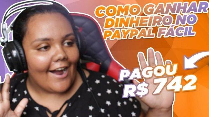 PAGOU 742 REAIS! COMO GANHAR DINHEIRO NO PAYPAL RESPONDENDO PESQUISAS